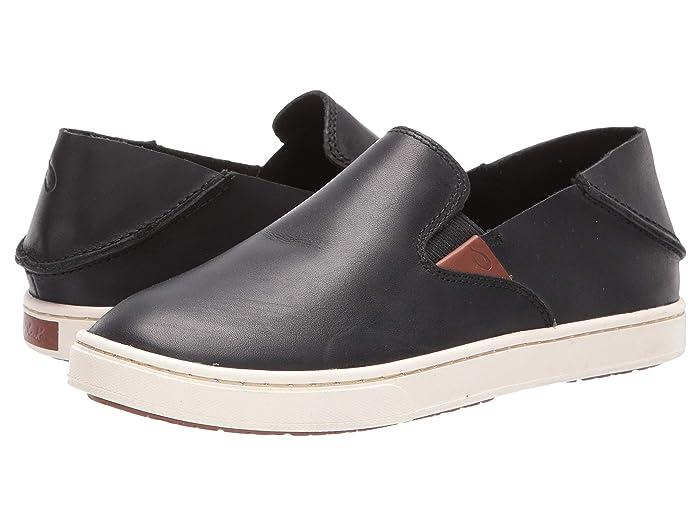 Pehuea Leather  Shoes (Black/Black) Women's Shoes