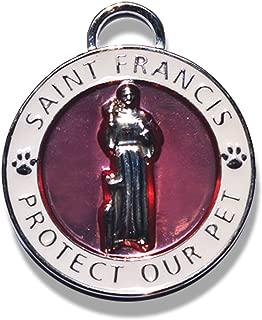 saint francis dog charm