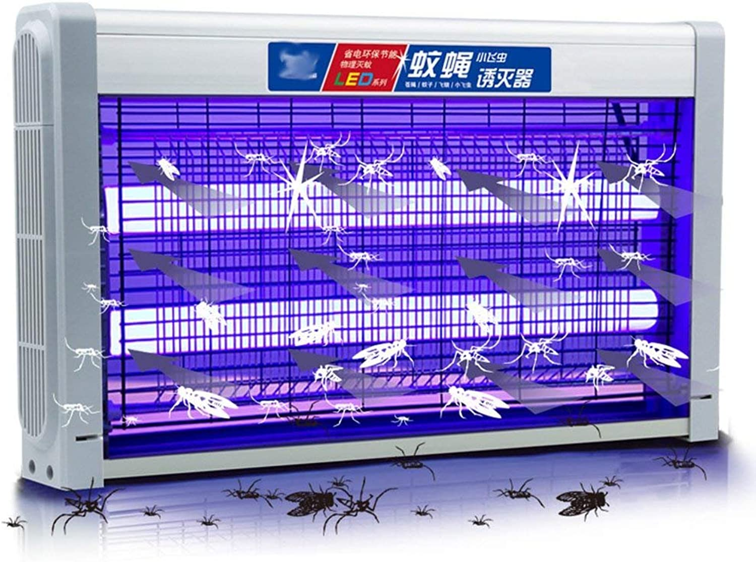 Flying Killer Electronic LED Mosquito Killer purple Wave Security Mosquito Killer Mosquito Repellent Physical Mosquito Killer High Performance