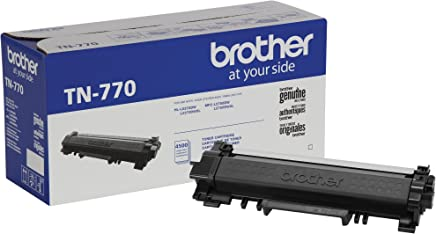 $112 » Brother TN-770 HL-L2370  MFC-L2750 Toner Cartridge (Black) in Retail Packaging