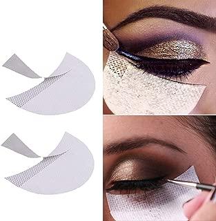 Eyeshadow Stencils, 120 Pcs Eyeshadow Shield, Professional Lint Free Under Eye Eyeshadow Gel Pad Patches For Eyelash Extensions, Lip Makeup