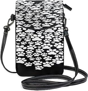 Leather Purse Crossbody I Love My Dog Over Black Vector Illustr Print Purses Crossbody Phone Case Purse Purse Wallet Travel Passport Bag Handbags For Women