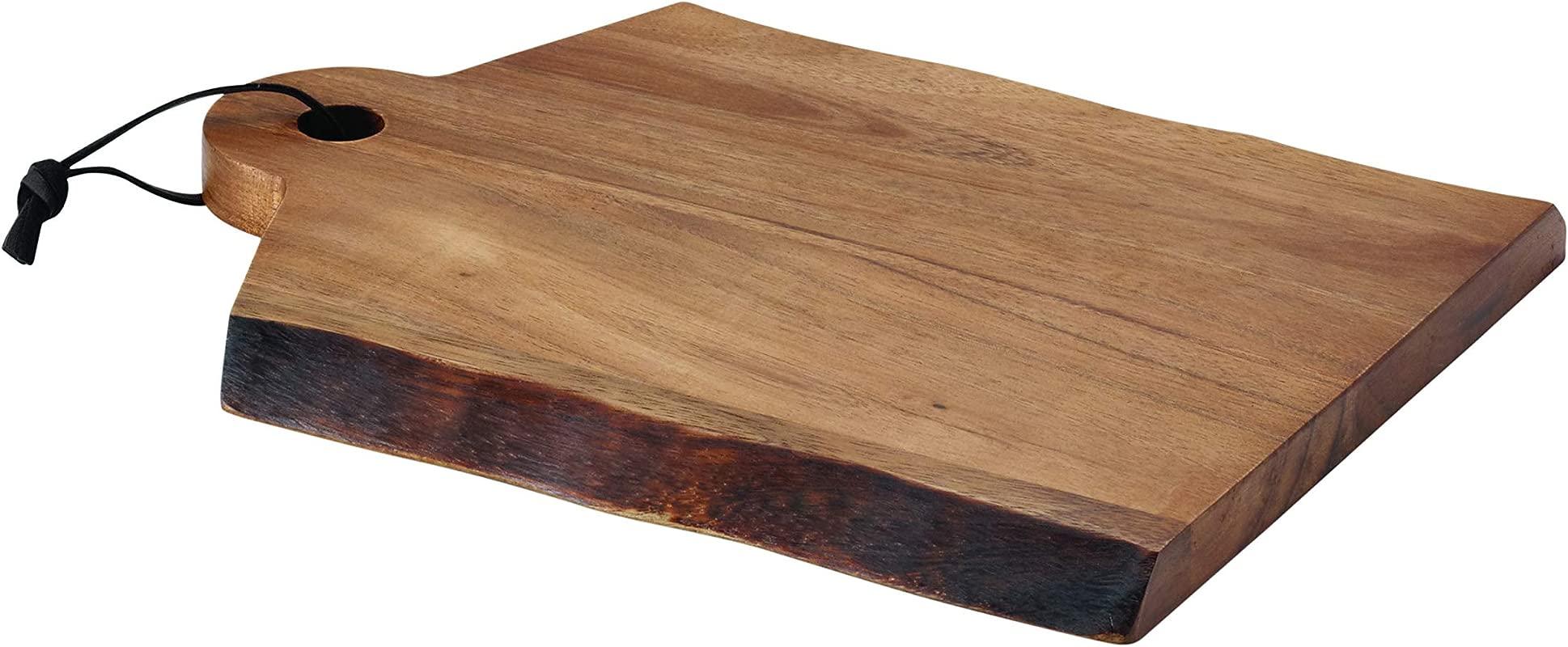 Rachael Ray Cucina Pantryware 14 Inch X 11 Inch Wood Cutting Board With Handle