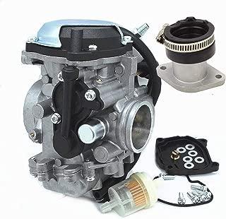 New Carburetor & Intake Manifold For Yamaha Bear Tracker 250 YFM250 199-2004 Big Bear 350 YFM350