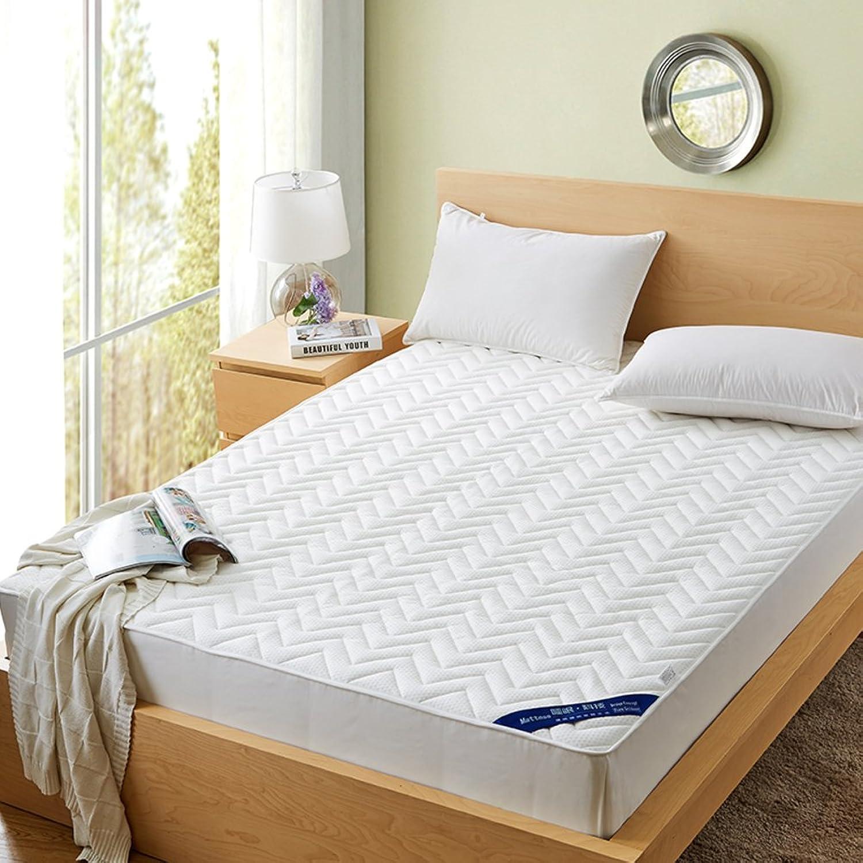 Mattress Knitting,Thicken,Quilted,Anti-skidding,Mattress Predective Case Thin Mattress-B 150  200cm(59x79inch)