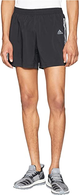 Running 3-Stripes Run Shorts 5""