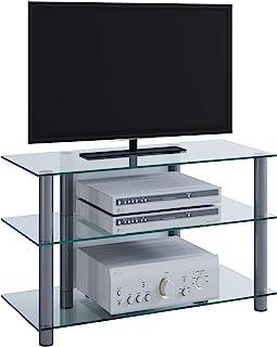 VCM Sindas-Mueble para TV, Cristal Claro