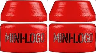 Mini-Logo Skateboard Bushings for 2 Trucks Hard Red 100a