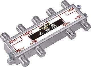 DXアンテナ 分配器 【2K 4K 8K 対応】 8分配 全端子間通電 金メッキプラグ F型端子 ダイカスト製高シールド構造 8DMLS
