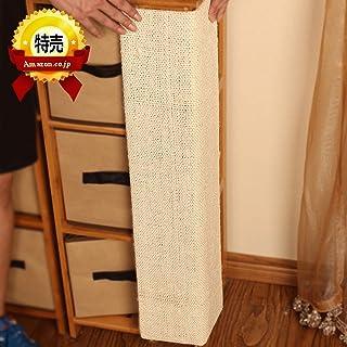Gifty 壁に貼れる爪とぎボード 猫用 80*28 大きめ 猫 爪とぎ 室内用 壁 家具 コーナーガード ワイド 麻のつめみがき XL