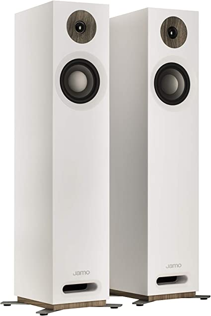 White Jamo S805 Compact Floorstanding Speakers Electronics & Photo ...