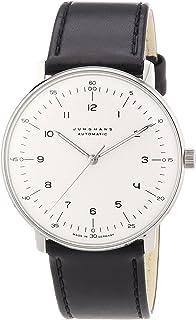 JUNGHANS - MAX Bill 027/3500.00 - Reloj de Caballero automático, Correa de Piel Color Negro