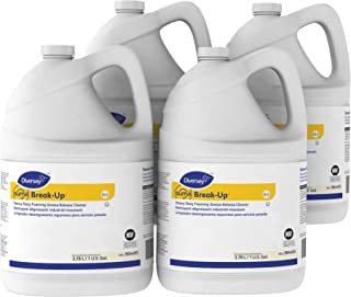 Diversey Suma Break-Up Heavy Duty Foaming Grease-Release Cleaner (1-Gallon, 4-Pack)