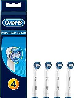 Oral-B Precision Clean Końcówki wymienne do akumulatorowych szczoteczek elektrycznych do zębów, opakowanie 4 sztuki, dokła...