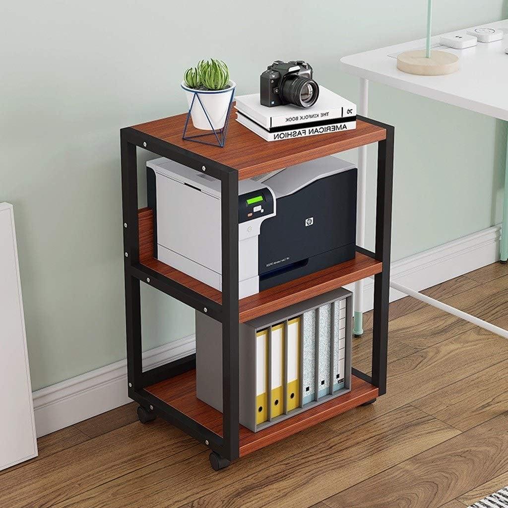 YCSX Desk Side Printer Stand Shelf Rapid rise Creative Cop Layers Latest item 3