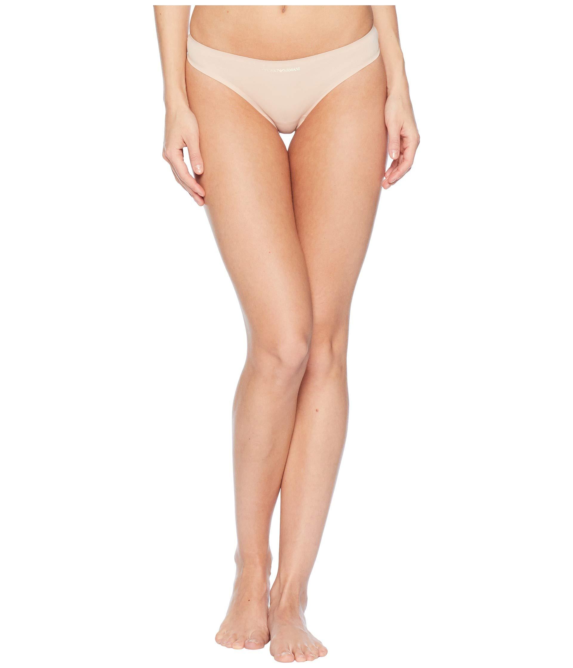 Bonding Thong Emporio Nude Armani Microfiber Rpn5zw