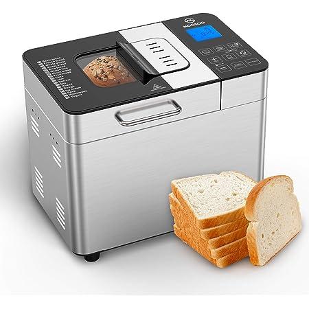 3.5LB Stainless Steel Programmable Bread Maker Machine Digital ...