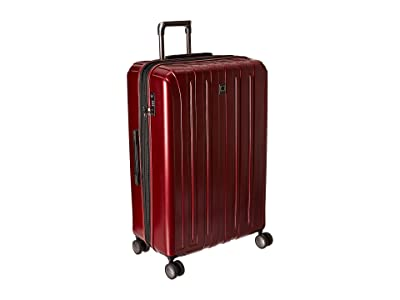 Delsey Helium Titanium 29 Expandable Spinner Trolley (Black Cherry) Luggage