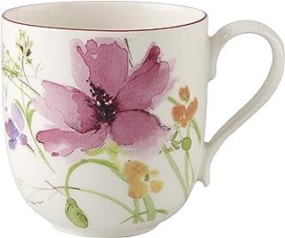 comprar comparacion Villeroy & Boch Mariefleur Basic Taza grande, 480 ml, Altura: 11 cm, Porcelana Premium, Blanco/Multicolor