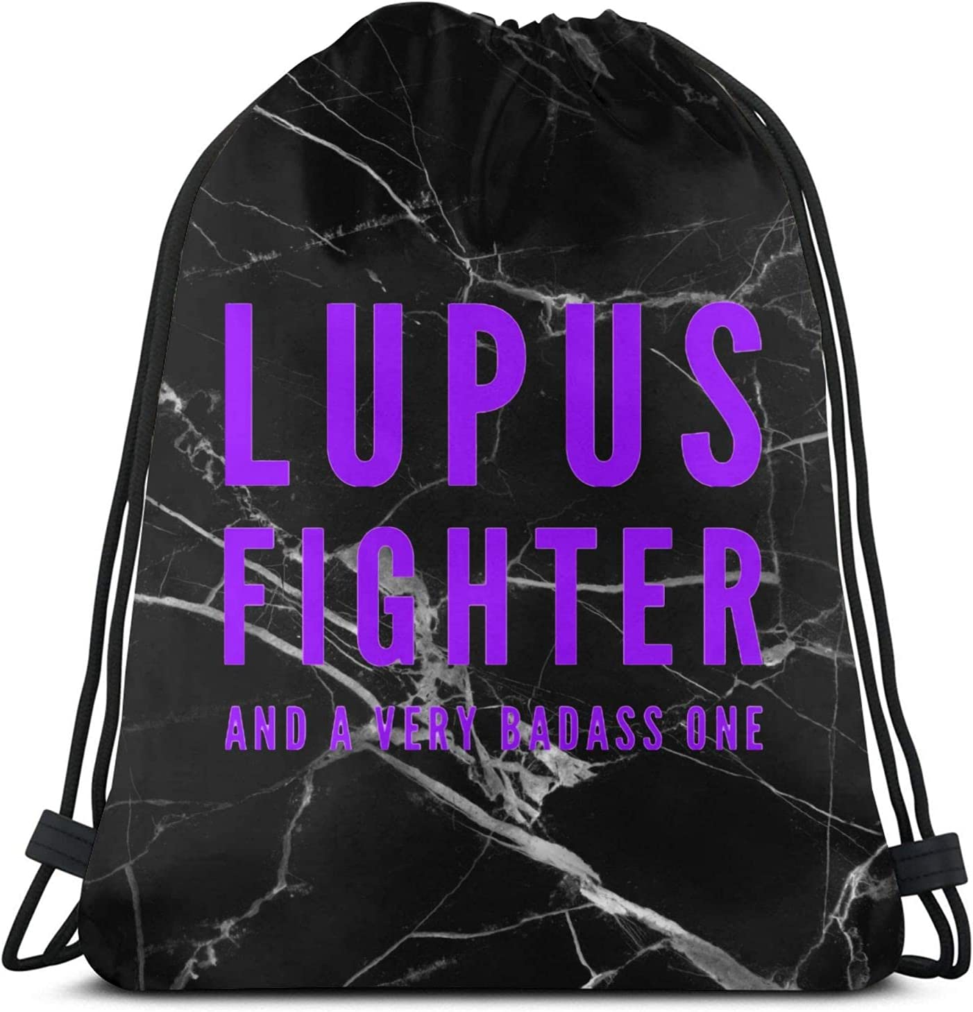 Ranking TOP8 Lupus Fighter Award Drawstring Backpack for gym beach Strin swim Draw