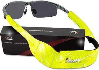 ARiety Bandeau de lunettes de sport flottant - Premium bande pour lunettes et lunettes de soleil Néoprène pour branches mo...