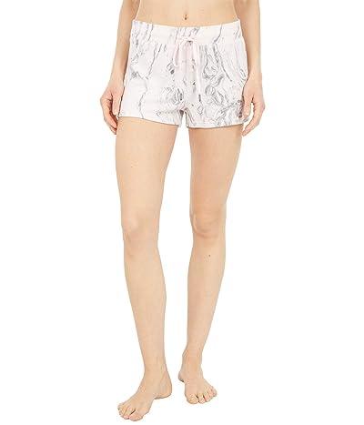 P.J. Salvage Marvelous Marble Shorts (Pale Pink) Women