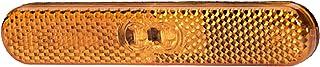 HELLA 2PS 009 226 021 Seitenmarkierungsleuchte   LED   12V   Lichtscheibenfarbe: gelb   Kabel: 195mm   Stecker: AMP