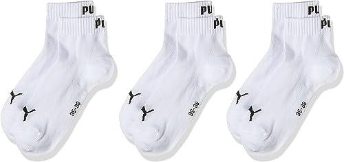 Puma Chaussettes de sport Mixte Adulte Lot de 3,