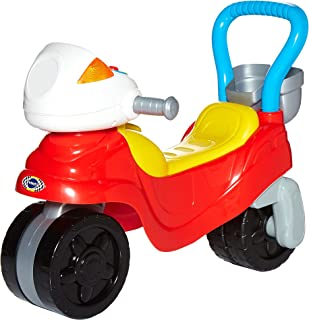VTech 3-in-1 Ride with Me Motorbike - Interactive Ride-on Bike, Baby Walker for Toddlers - Red - 529463