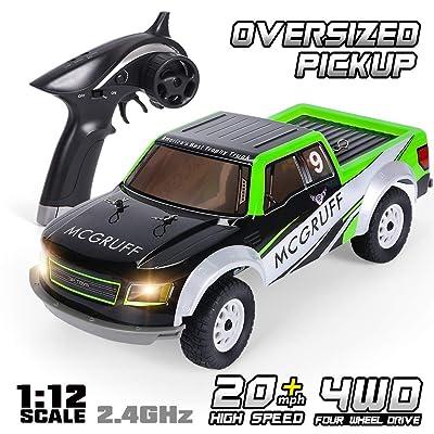 GPTOYS Remote Control Car 1:12 2.4GHz 4WD Off R...