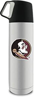 NCAA Florida State 17oz Double Wall Stainless Steel Coffee Thermos with Cup