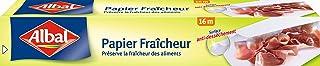 Albal Rouleau de Papier Fraîcheur, Facile à Découper, Surface Anti-dessèchement, 16 m