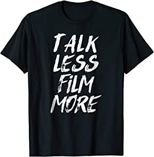 Funny Cameraman T-shirt Gift for Best Videographer
