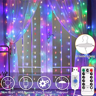 Best tumblr curtains with lights Reviews