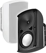 "OSD Audio 6.5"" 120W Architectural Patio Speaker Pair - Outdoor/Weather Resistant, White - AP670"