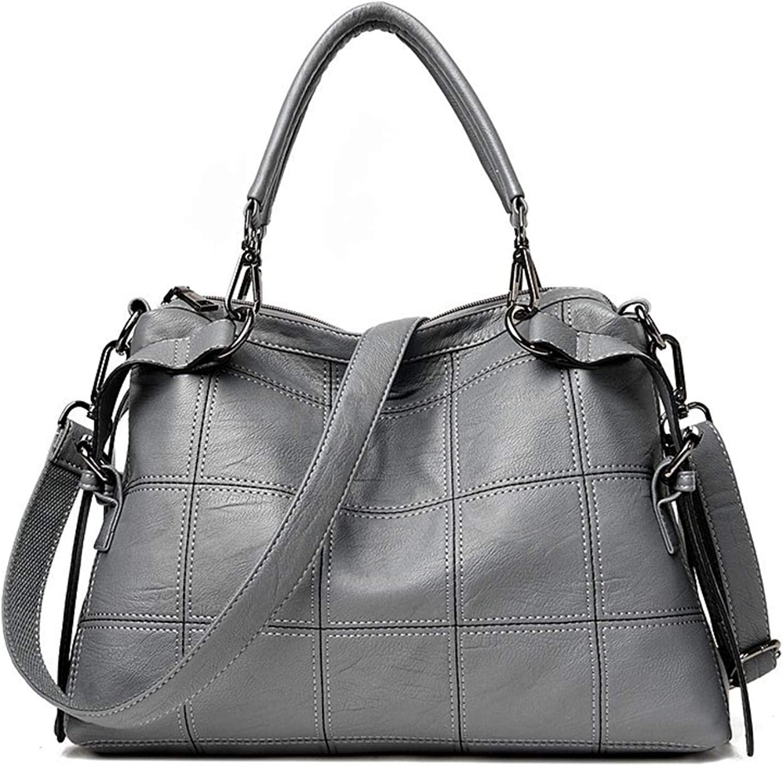 European And American Sty WomenGenuine Leather Ladies Shoulder handbags