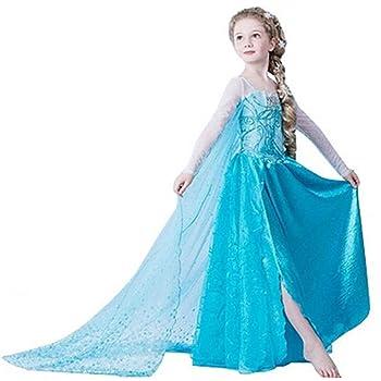Disfraz de Princesa ELSA & ANNA® de Frozen, para niña (5-6 años ...