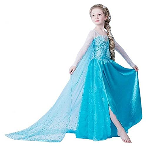 ceb571c91a011 UK1stChoice-Zone Girls Snow Queen Party Outfit Fancy Dress Costume Princess  Cosplay FBA-IT&ES
