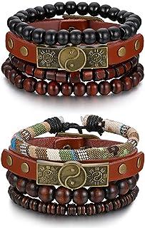 03d766e144f1 Amazon.es: pulseras de cuero artesanales