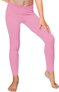 944eea1a56ab3 Girl's and Women's Premium Footless Leggings | Stretch Pants | Cotton,  Metallic | Child X
