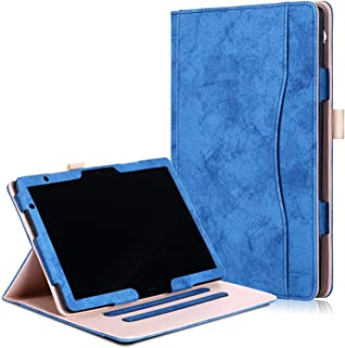 For Huawei MediaPad M5 Lite 10 10.1 inch Tablet Case, Protable Wallet Leather with Inner Frame Card Slide Business Full Pr...