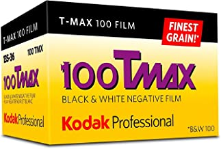 Kodak Professional 100 Tmax Black and White Negative Film (ISO 100) 35mm 36 Exposures 3-Pack
