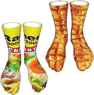 2 Pack Compression Socks Athletic Sports Crew Thigh High Tube Socks for Men Women Running Nurses Dress Cycling