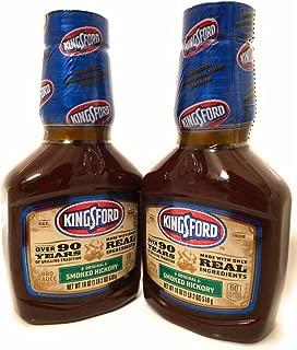 Kingsford BBQ Sauce, Original Smoked Hickory (2 pack) 18 Oz each