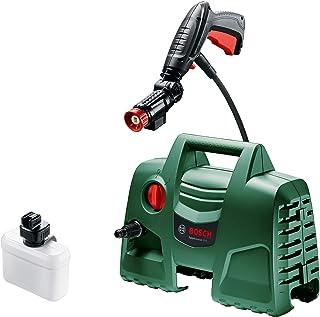 Bosch High Pressure Washer EasyAquatak 100 (1200 Watt, 100 Bar / 1450 PSI, 360 Degree High-Pressure Gun, 3 m Hose and Dete...