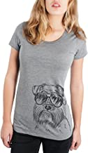 Inkopious Wrigley The Schnauzer Triblend T-Shirt