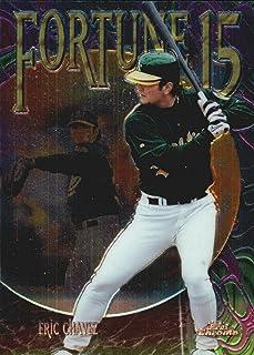 1999 Topps Chrome Fortune 15#FF8 Eric Chavez MLB Baseball Trading Card