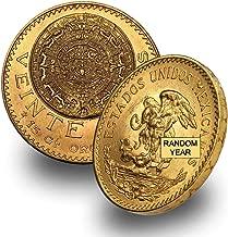 1917 MX 1959 (Random Year) Mexico Gold Veinte 20 Pesos Brilliant Uncirculated .4823 troy oz AGW