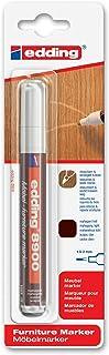 edding e-8900-1-4612 - Marcador para retocar muebles color Caoba claro, Retoca y repara arañazos y desperfectos
