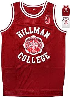 Wayne #9 Hillman College Theater Basketball Jersey S-XXXL